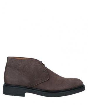 Полусапоги и высокие ботинки BALDININI. Цвет: коричневый