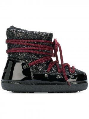 Зимние ботинки Dsquared2. Цвет: черный