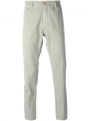 Классические брюки Ermanno Scervino. Цвет: серый