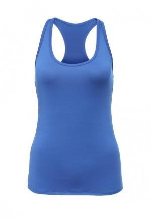 Майка спортивная Emdi. Цвет: синий