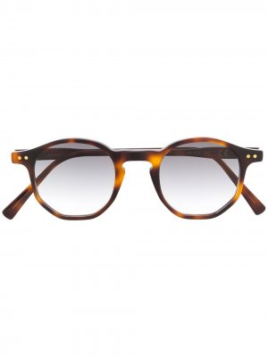 Солнцезащитные очки Amon в оправе черепаховой расцветки Epos. Цвет: коричневый