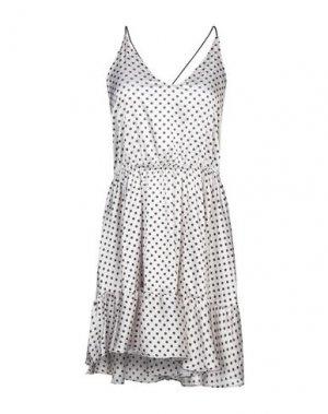 Короткое платье F**K PROJECT. Цвет: бежевый