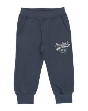 Повседневные брюки FRED MELLO. Цвет: грифельно-синий
