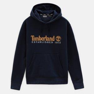 Толстовки Essential Established 1973 Hoodie Sweat Timberland. Цвет: темно-синий