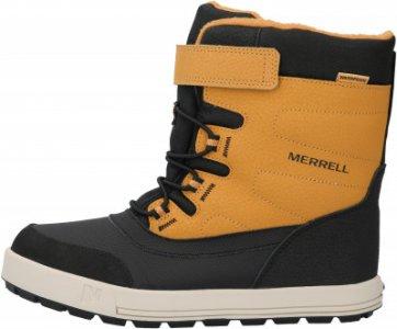 Ботинки детские M-Snow Storm Wtrpf, размер 33 Merrell