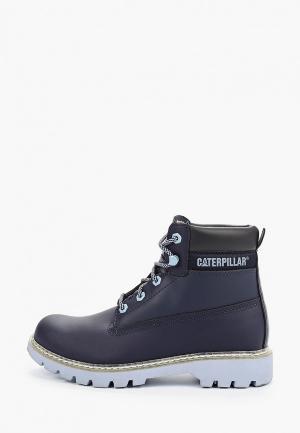 Ботинки Caterpillar LYRIC. Цвет: синий