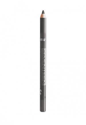 Карандаш для глаз Seventeen водостойкий т.11  Super Smooth W/P&Longstay стальной. Цвет: серый