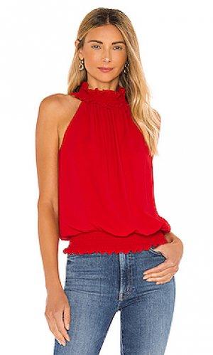 Блузка kimmie Amanda Uprichard. Цвет: красный