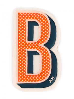 Наклейка B Anya Hindmarch. Цвет: разноцветный