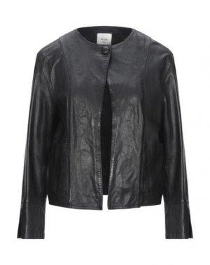 Куртка ALYSI. Цвет: черный