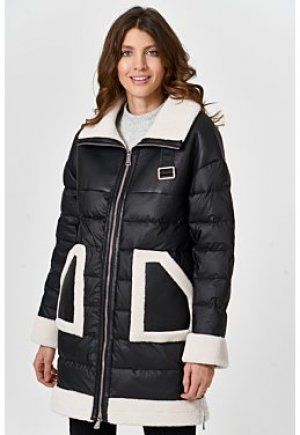 Утепленная куртка с отделкой Virtuale Fur Collection
