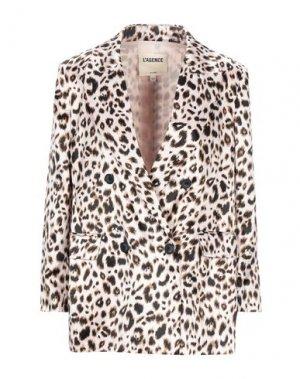 Пиджак L'AGENCE. Цвет: светло-розовый