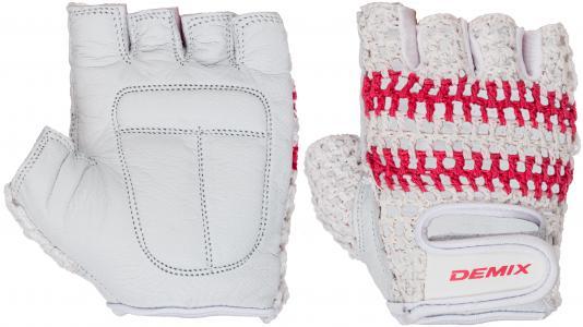 Перчатки для фитнеса , размер S Demix. Цвет: белый