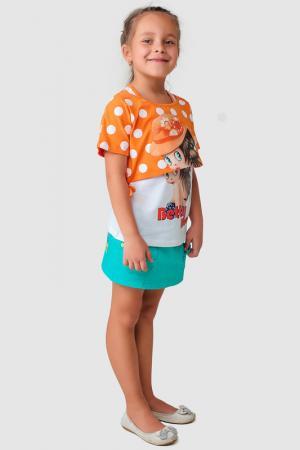 Юбка Betty Boop. Цвет: зеленый