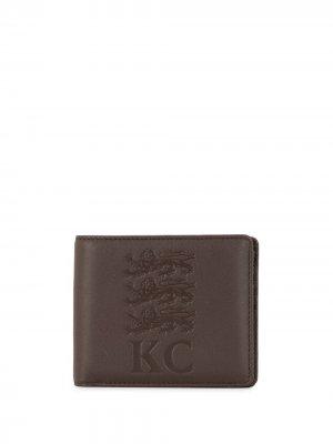 Складной кошелек Kent & Curwen. Цвет: коричневый