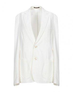 Пиджак ROYAL ROW. Цвет: белый