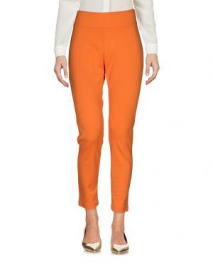 Брюки-капри MALÌPARMI. Цвет: оранжевый