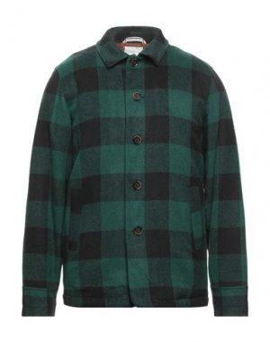 Куртка ANERKJENDT. Цвет: изумрудно-зеленый