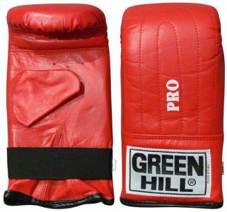 Перчатки снарядные Pro, размер 6 Green Hill. Цвет: красный