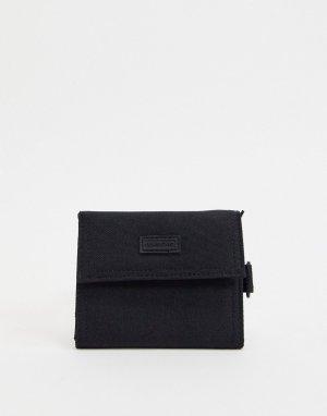 Черный бумажник Consigned-Черный цвет Fenton