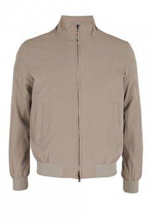 Куртка HERNO. Цвет: коричневый
