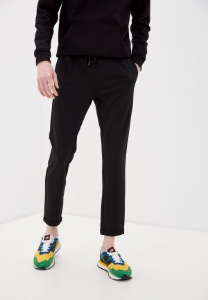 Брюки спортивные Indicode Jeans. Цвет: черный