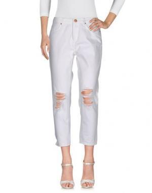 Джинсовые брюки 2ND ONE. Цвет: белый