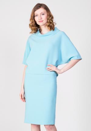 Костюм Samos fashion group. Цвет: голубой