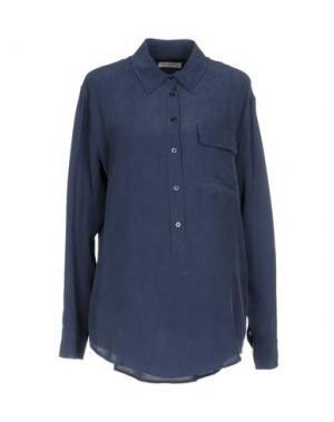 Блузка EQUIPMENT. Цвет: грифельно-синий