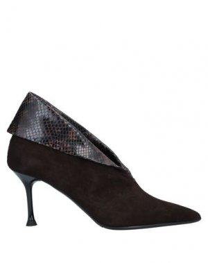 Ботинки ELLA. Цвет: темно-коричневый