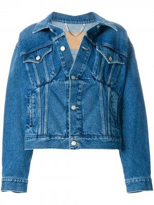 Джинсовая куртка Swing Balenciaga. Цвет: синий