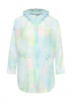Куртка PUMA PU053EWQPD29. Цвет: голубой