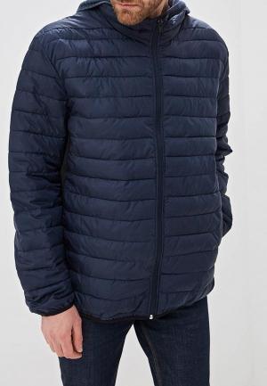 Куртка утепленная Jack & Jones. Цвет: синий
