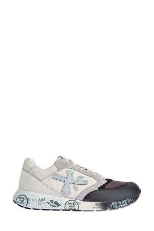Легкие кроссовки ZacZac с градиентным эффектом PREMIATA. Цвет: мульти