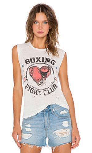 Майка без рукавов boxing riley Lauren Moshi. Цвет: слоновая кость