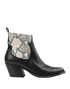 Полусапоги и высокие ботинки DOLCE VITA. Цвет: черный