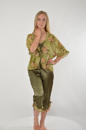 Комплект одежды CLEO. Цвет: хаки