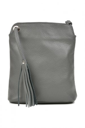 Bag CARLA FERRERI. Цвет: gray