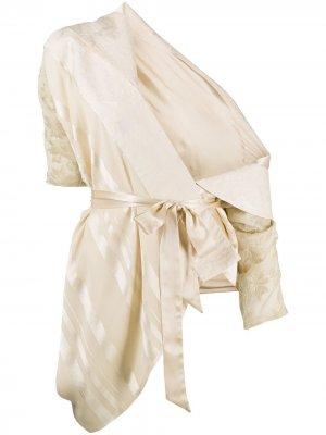 Draped jacquard jacket Antonio Marras. Цвет: нейтральные цвета