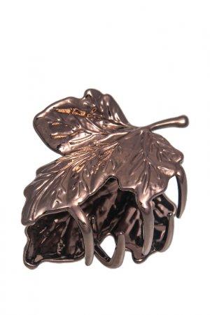 Заколка-краб Asavi Jewel. Цвет: коричневый