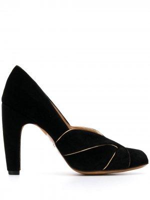 Туфли Denia с открытым носком Chie Mihara. Цвет: черный