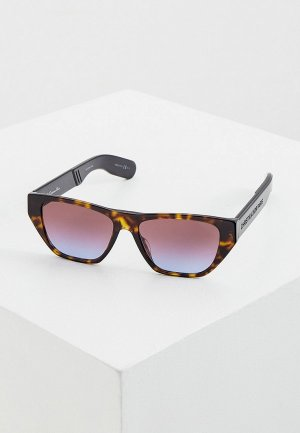Очки солнцезащитные Christian Dior DIORINSIDEOUT2 086. Цвет: коричневый