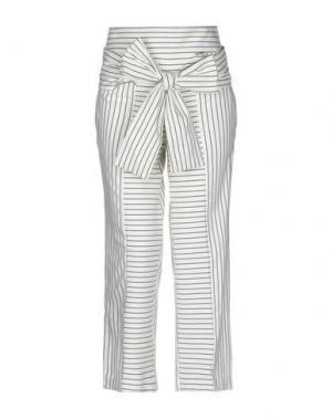 Повседневные брюки ANNARITA N TWENTY 4H. Цвет: слоновая кость