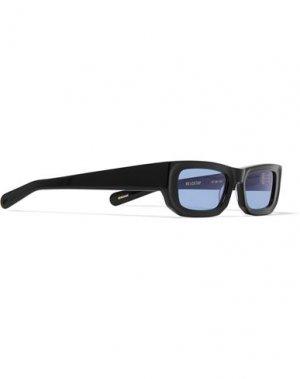 Солнечные очки FLATLIST. Цвет: черный