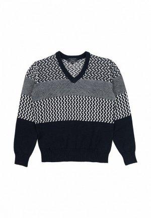 Пуловер Born. Цвет: синий
