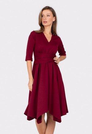 Платье Bornsoon. Цвет: бордовый