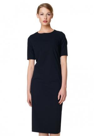 Платье Pompa. Цвет: синий