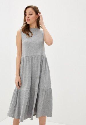 Платье Mango - SHARONA2-X. Цвет: серый