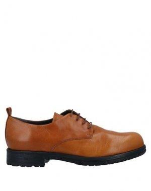 Обувь на шнурках FRU.IT. Цвет: желто-коричневый