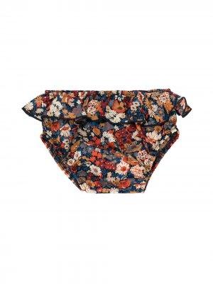 Панталоны с оборками и цветочным рисунком Emile Et Ida. Цвет: разноцветный